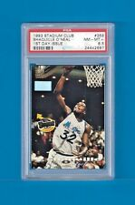 SHAQUILLE O'NEAL1993-94 STADIUM CLUB #358 1ST DAY ISSUE MAGIC/LAKERS PSA 8.5 MT