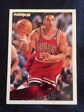 1995 Fleer NBA Basketball Card #35 Scottie Pippen Chicago Bulls