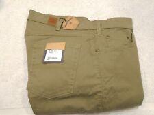 Bills Khakis Stretch Sierra Twill  5 Pocket Pants NWT 36 x 30 $145 Sage Green