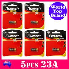 5pcs A23 Super Alkaline 23A 12V remote control V23GA GP23A LR23 MN21 PAIRDEER