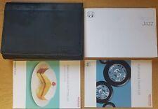 GENUINE HONDA JAZZ OWNERS MANUAL HANDBOOK WALLET 2001–2005 PACK D-394