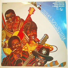 BLUES/ROCK AVALANCHE Live Bo Diddley Muddy Waters Double LP Record Vinyl