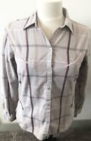 Roper Women's Western Plaid Shirt Size Medium Long Sleeve Pearl Snap Button up