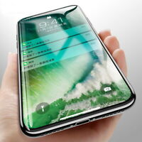 For iPhone 11 Pro Max X 8 XS Full Cover Tempered Glass Film 5D Screen Protector
