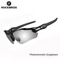 RockBros Cycling Polarized Sunglasses Photochromatic Glasses Bike Goggles