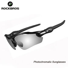 RockBros Cycling Polarized Sunglasses Photochromatic Glasses Bike Goggles