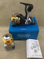 NEW Shimano Sahara RD Spinning Fishing Reel Rear Drag 1000 - 4000 Various Sizes