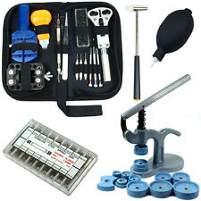 Link Remover, Spring Bars with Case Press Watch Repair Tool Kit - Case Opener,