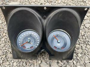 1967 1968 Chevrolet Camaro Firebird Instrument gauge Cluster 160mph Speedometer