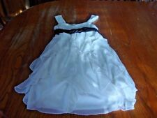 Girls Size 8 Sleeveless Ruby Rox Girls Dressy Fancy Easter Dress  NWOT