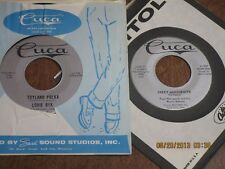 Cuca 45 Record Lot Of 2 / Louie Byk / Toyland Polka / el Oberek 1057 H26