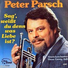 """7"""" PETER PARSCH Sag weißt du.. OST Love Is a Many Splendored Thing ALL STAR 1986"""