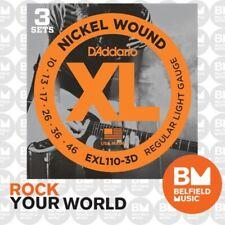 D'Addario EXL110-3D Electric Guitar Strings - 18 Pieces