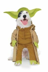 Classic Yoda Star Wars Large Dog Costume LG Halloween Outfit