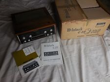 Vintage McIntosh C-28 Stereo Pre-Amplifier Pre-Amp Original Box Manuals