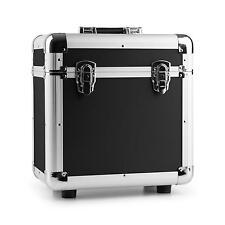 DJ Schallplattenkoffer Vinyl Case Schutz Koffer Aluminium Schaumstoff 80 LPS