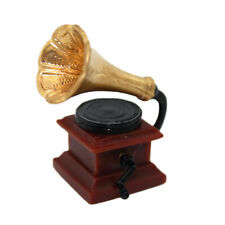 1:12 Dollhouse Miniatures Mini Phonograph Accessories Kids Play House Toy Newly
