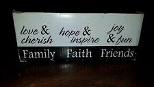 Faith Family Friends Votive Candles & Holders Mycos Best Inspirational Soft Glow