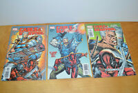 CABLE & DEADPOOL Marvel Comics #1-3 2004 VF Comic Books Lot Nice