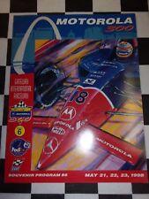 Motorola 300 May 21, 22, 23 1998 Souvenir Racing Program Gateway International