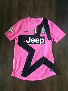 Player Match Worn Issue Prepared Bonucci Juventus 12-13 Pink Jersey L Large