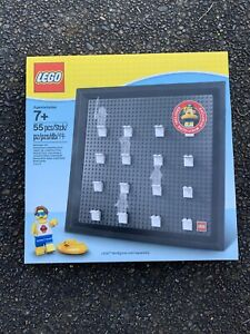 LEGO Collector Frame Display Case 5005359 w/ Exclusive Mini Figure #6232007  NEW