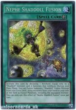 SECE-EN059 Nephe Shaddoll Fusion Secret Rare UNL edition Mint YuGiOh Card