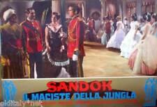 fotobusta 1964 SANDOK il Maciste della Giungla-Sean Flynn-A.Dominici-Panaro - 2