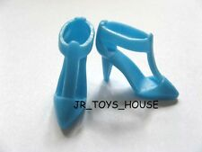 Light Blue shoes H for blythe barbie licca momoko Pullip Odeco Chan Azone