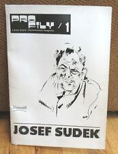Josef Sudek Profily 1 18 Original Photographs Portfolio Booklet  Folder