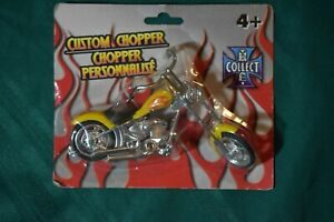 CUSTOM CHOPPERS COLLECTIBLE MOTORCYCLE HARD TO FIND