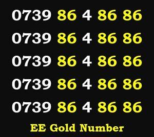 Number Easy Mobile Sim EE Card Gold Vip Business Phone New Memorable Platinum