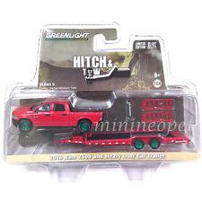 GREENLIGHT 32090 2016 DODGE RAM 2500 & HEAVY DUTY CAR HAULER 1/64 GREEN MACHINE