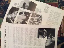 R7 ephemera 1944 usa film article ten pretty girls jensen a o