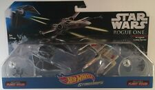 Hot Wheels - Tie Striker Vs X-Wing Fighter Red Five Star Wars Starships A Case
