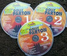 CHARTBUSTER KARAOKE DOLLY PARTON CLASSIC COUNTRY 3 CDG SET MUSIC 50 SONGS 5048