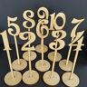 Freestanding Wooden Table Stands / Number / Balloon Wedding Craft MDF Decor Wood