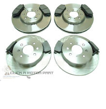 MG ZS 180 ZR 160 2001-2005 FRONT & REAR MINTEX BRAKE DISCS AND PADS SET NEW