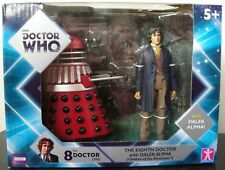 Doctor Who 8th Doctor & Alpha Dalek Exclusive Twin Pack - Nearly Gone,>>
