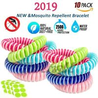 Bracelet Anti Mosquito Pest Insect Repellent Leather Wrist Bands Bug Repeller