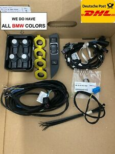 BMW 1' 3' 4' F20 F30 F31 F32 F36 Front Parking sensors PDC Retrofit Kit install