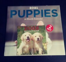 2021 Puppies 12 Month Calendar Plus 12 Month Dog Mini Calendar