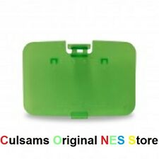 JUNGLE GREEN NINTENDO 64 N64 JUMPER PAK MEMORY COVER DOOR REPLACEMENT PART LID