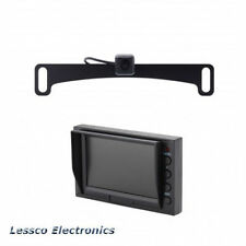 "Echomaster License Plate Camera(PCAM-10L-N) / 4.3"" Glass Mount Monitor (PMON-43)"