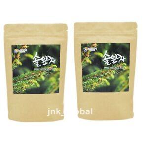 60Bags Dried Pine Needle Tea Korean Medicinal Herbal Anti-aging Healthy + Track