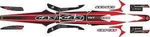 GasGas TXT Pro 2005 Trials Bike style decal / sticker  set  .