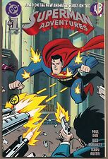 SUPERMAN ADVENTURES #1 DC 11/96 MERCY GRAVES 1ST APPEARANCE WRAPAROUND COVER FN+