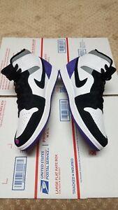 🌌Nike Air Jordan 1 Mid SE Varsity Court Purple 852542105 Men Size 9.5 NEW+BOX