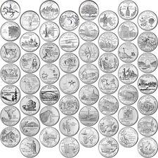Brilliant Uncirculated 1999-2009 56P & 56D US States & Territories 25 Cents