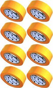 8x Goldband // 38mm x 50m // Markenqualität // Soft Tape Abdeckband Washi Tape
